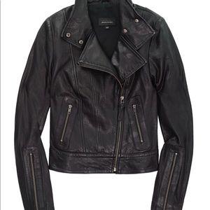 Kenya Mackage Aritzia Leather Jacket